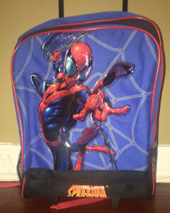 Spiderman Rolling Backpack/Carry On