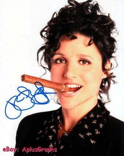 JULIA LOUIS-DREYFUS.. Cigar Aficionado (Seinfeld) SIGNED
