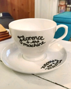 Florence and the Machine Tea Cup & Saucer