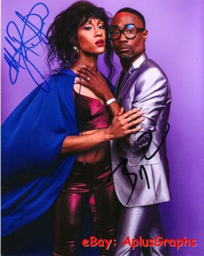 POSE.. Billy Porter with MJ Rodriguez - SIGNED