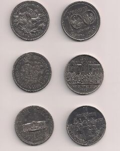 Canadian Coins - Silver Dollars - $3 each, or any 4 for $10