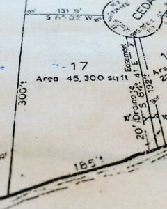 Subdividing is a Reasonable Possibility,1+Acre 185 ft Waterfront