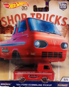 **FREE POST/PICKUP! NEW 60s Ford EconoLine Pickup Real Riders HW Castle Hill The Hills District Preview