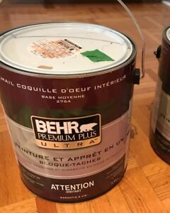 Behr paint gallon