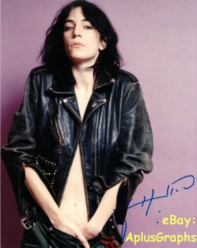 PATTI SMITH.. People Have The Power Singer - SIGNED