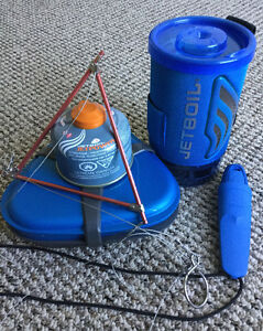 JETBOIL FLASH with CAMPING KITCHEN SET