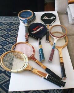 VINTAGE WOOD TENNIS RACKETS (AUTOGRAPH) FOR WOMEN