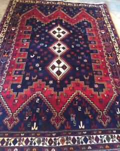 Persian Carpet,Handmade,Wool, 7.10 x 5.8 ft,