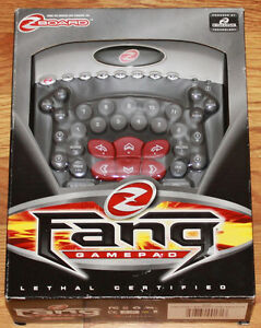 New Ideazon Fang Z Board PC Gamepad Keyboard