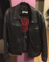Leather Jacket Schott for men XXL $400