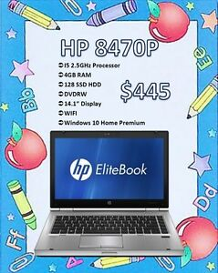 BACK TO SCHOOL SALE - HP Elitebook 8470P Only $445!