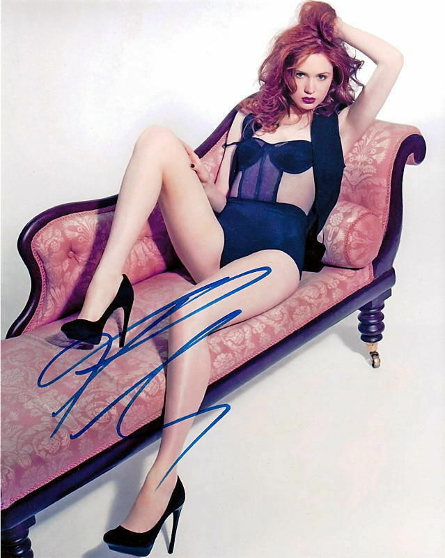 KAREN GILLAN.. Sexy & Sultry  (Doctor Who) SIGNED