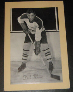 1944-64 Bee Hive Photos Group 1 Maple Leafs Canadiens Bruins