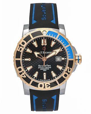 Carl F. Bucherer Patravi ScubaTec 18K Rose Gold & Steel Automatic Men's Watch