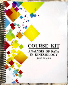 Kine 2050 Course Kit+lab manual