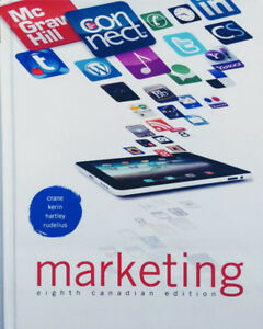 Marketing, 8th Canadian Edition Hardcover