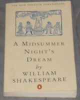 TheNew Penguin Shakespeare A Mid summer Night's Dream by William