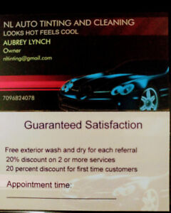 Auto detailing and Tinting