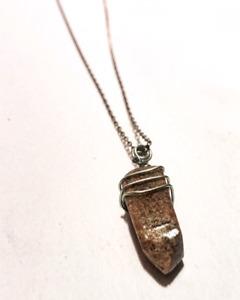 Beach healing stone jewelry