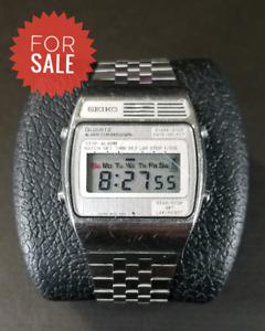 Pre-owned Vintage Seiko Alarm Chronograph