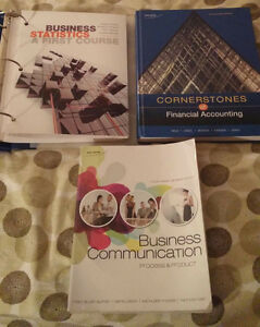 1st and 2nd Year University Business Textbooks