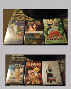 Dvds anime