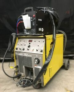 ESAB Heliarc 252 AC/DC Tig Welder with Water cooler
