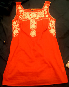Tory Burch summer dress size small never worn
