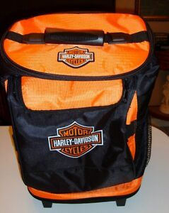 Harley Davidson Cooler Bag On Wheels  NEW