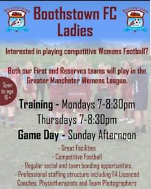 Ladies Open Age Football League 16+