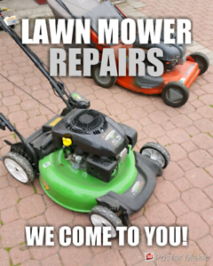 Mobile Lawn Mower Repair ▪HOUSE CALL ▪ Lawnmower Mover