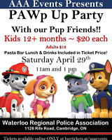PAWP UP PARTY WITH OUR PUP FRIENDS!