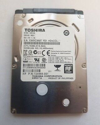 7200 Rpm Sata Laptop (Toshiba 500 GB SATA III 2,5 Zoll 7200 RPM 16 MB Laptop Festplatte MQ01ACF050)