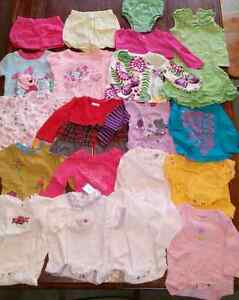 21 Baby girls clothing items, 6-12 months