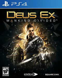 Deus Ex Mankind Divided PS4  Sell or Trade