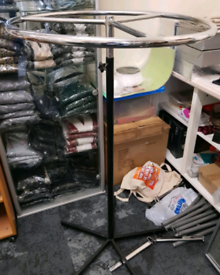 Clothes display rail