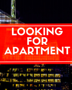 Young students looking for Apartment! Jan.1st.