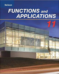 Nelson Functions and Applications 11 Textbook and ANSWERS
