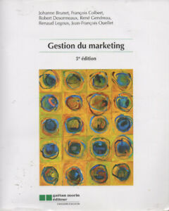 Gestion du marketing, 5e édition