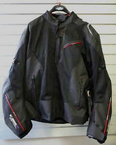 Oxford Estoril Mens Motorcyle Jacket, NEW