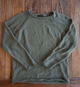 Journal Mens Knit Sweater Olive green (size 6)