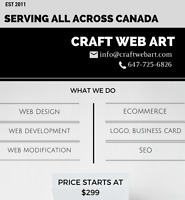 Most affordable web design and seo service.No Deposit
