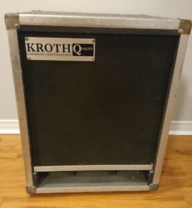 Bass Guitar Speaker Cabinets - 1x15 and 2x10