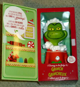 2013 The Grinch - Grumpy in the Fridge - Motion Activated Figure
