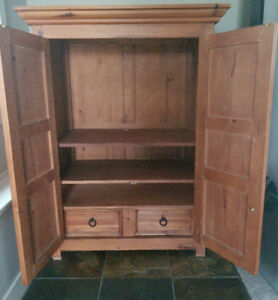 Solid Wood Armoire - GUC