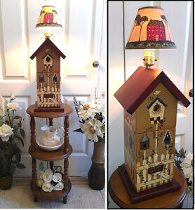 """Vintage Statement! 1-Door Table Lamp, H 22 1/2"""" (TEXT/CALL Only)"""