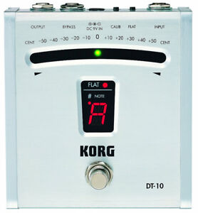 Korg DT10 Digital Guitar Foot Pedal Tuner