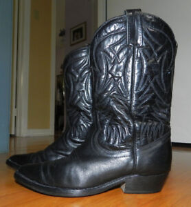 BOTTES WESTERN * *MARQUE BOULET* * WESTERN COWBOY BOOTS  * *