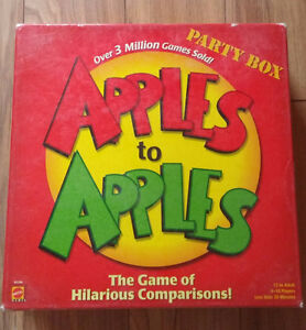 Apples to Apples board game Edmonton Edmonton Area image 1