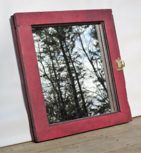 Old Window Frame Mirror